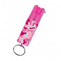 SABRE沙豹防身噴霧 輕量鑰匙圈型-粉紅迷彩 (SPKC-14-PC-OC)