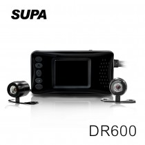 速霸 DR600 HD 雙鏡頭 防水防塵 高畫質機車行車記錄器